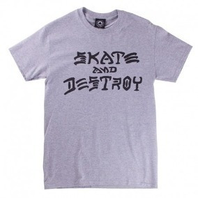 Playera 3/4 Thrasher Skate And Destroy