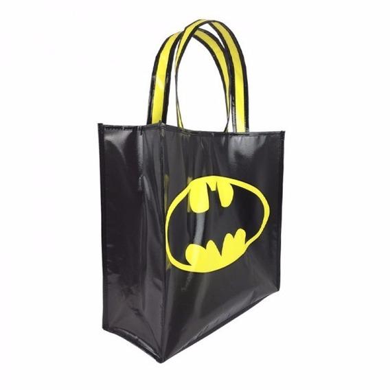 Ecobag Sacola Batman Dc Comics Sustentável 40x40x15