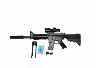 Rifle 681 Orbes De Hidrogel Potente Con Mira Láser