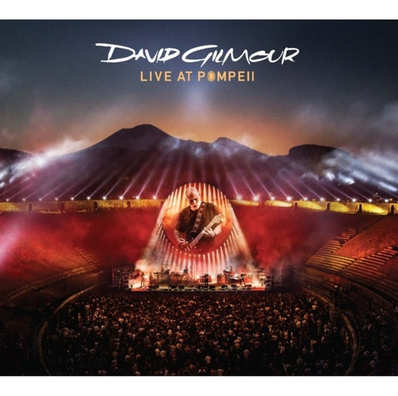 Cd Duplo David Gilmour - Live At Pompell (993212)