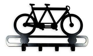 Quadro Porta Chaves Parede Decorativo Artesanato Bicicleta