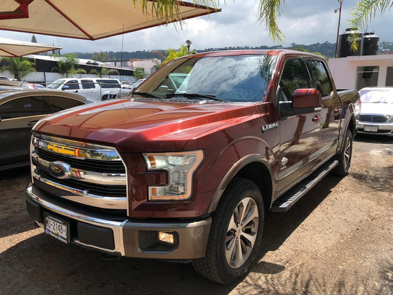 Ford Lobo King Ranch 2017 V6 3.5 375 Hp 4x4 Impecable!!