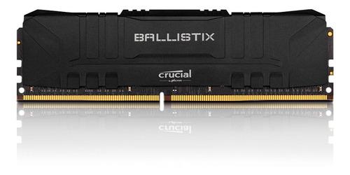 Imagem 1 de 2 de Memoria 16gb Ddr4 3200 Cl 16 1.35v Ballistix Black Crucial