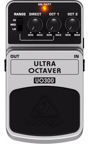 Pedal Behringer - Ultra Octaver - Uo 300