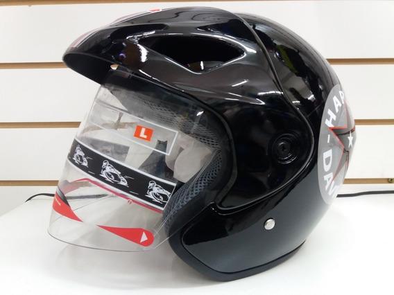 Capacete Unissex Harley Davidson Aberto Top