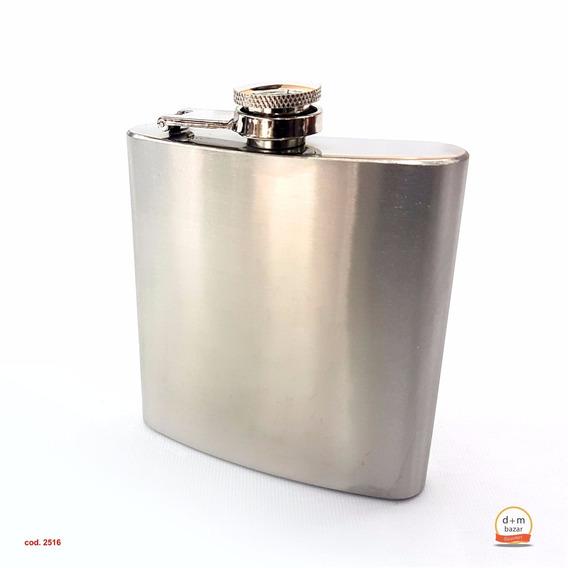 Petaca Acero In 210cc Whisky Bebidas Blancas