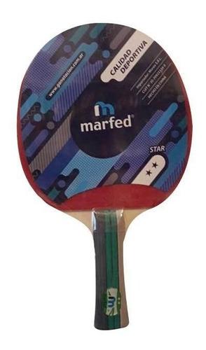 Imagen 1 de 3 de Paleta Ping Pong Marfed 1 Estrella 5110 - Local Olivos