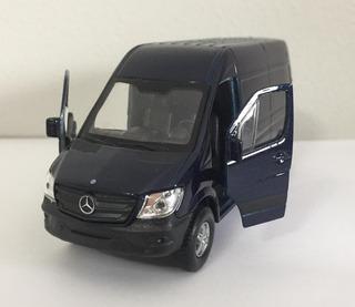 Miniatura Carro Sprinter Van Panel Mercedes-benz 1/38