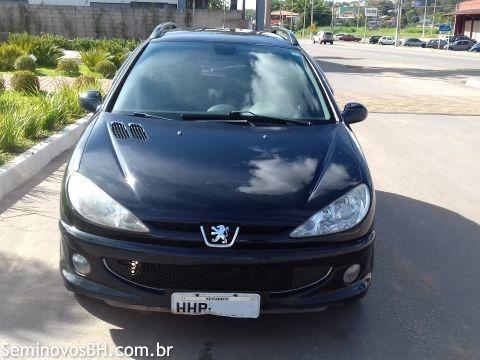 Imagem 1 de 3 de Peugeot 206 Sw 2008 1.6 16v Feline Flex Aut. 5p