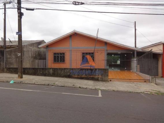 Casa Com 3 Dormitórios Para Alugar, 120 M² Por R$ 850/mês - Nova Rússia - Ponta Grossa/pr - Ca0733