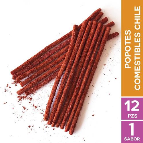 Yummy Straws :: Popotes Comestibles 12 Piezas Con Chilito