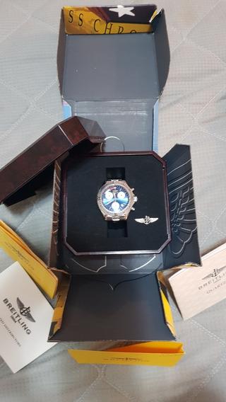 Relogio Breitling Transocean Cronografo - Quartz