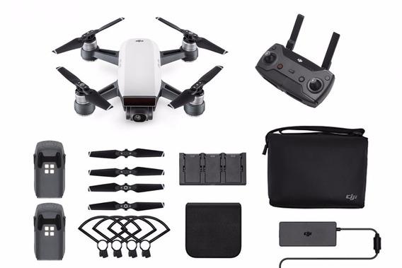 Drone Dji Spark Combo Com Aula De Vôo E Ativação Grátis