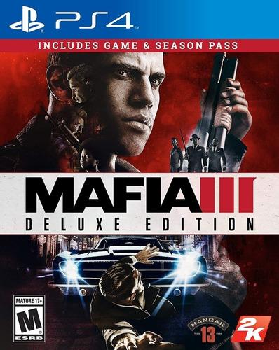 Mafia 3 Deluxe Edition Ps4 Fisico Nuevo Sellado Oferta !!!