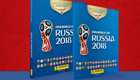 Álbum Copa Da Russia 2018 Capa Dura + 12 Envelopes