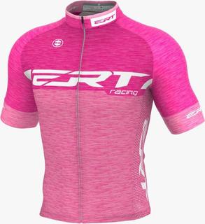 Camisa Ert Elite Racing Rosa 2020 Ciclismo Mtb Bike