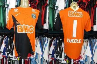 Coritiba 2012 Camisa De Goleiro Tamanho M #1 Vanderlei.