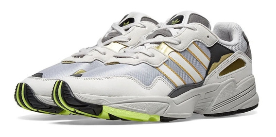 Tênis adidas Yung-96 Retro Grey Gold