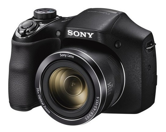 Câmera Sony Cyber-shot Dsc-h300 35x 20.1 Mp - Temos Loja