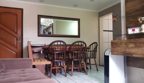 Apartamento À Venda, 55 M² Por R$ 210.000,00 - Jardim Santo André - Santo André/sp - Ap1283