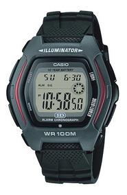 Relógio Hdd 600g-9 Digital Alarme Crono Dual Time Wr100