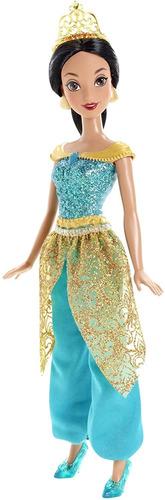 Imagen 1 de 5 de Disney Princess Sparkle Princesa Jasmine Muñeca