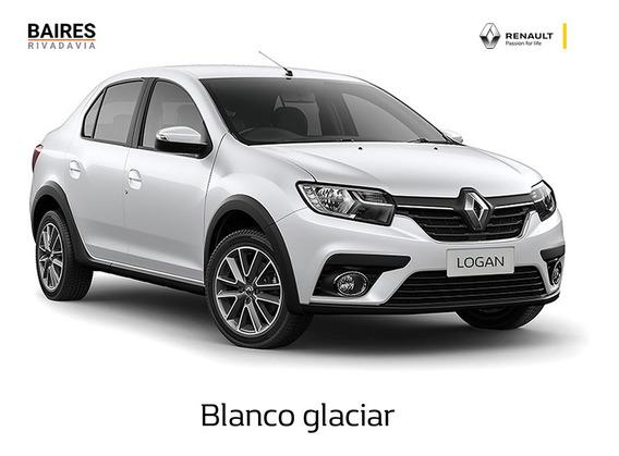 Renault Logan Zen 1.6 Blanco 2020 0km Contado/financiado