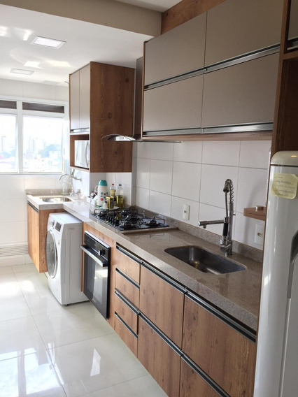 Lindo Apartamento 74 M2 2 Quartos Sacada Com Pia