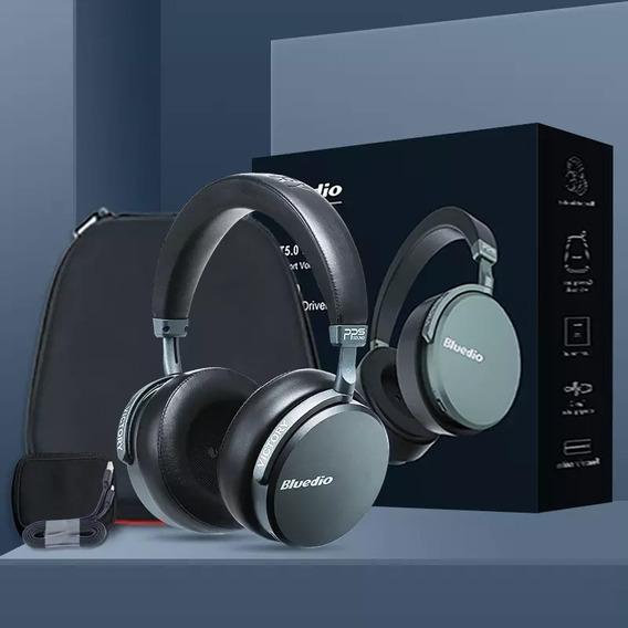 Fone De Ouvido Bluedio V2 Bluetooth 5.0 12 Drivers Headset