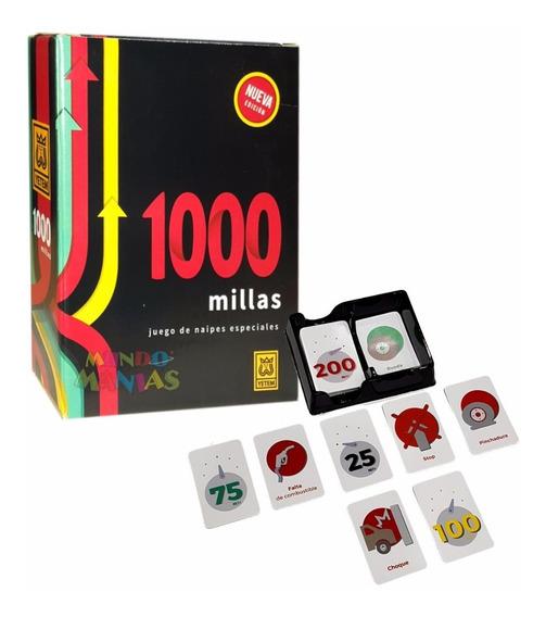 Mil Millas 1000 Millas Cartas Juego De Mesa Yetem