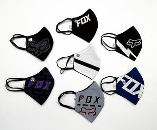 Mascara Tapabocas Antifluido Fox Deportivo Hombre Y Mujer