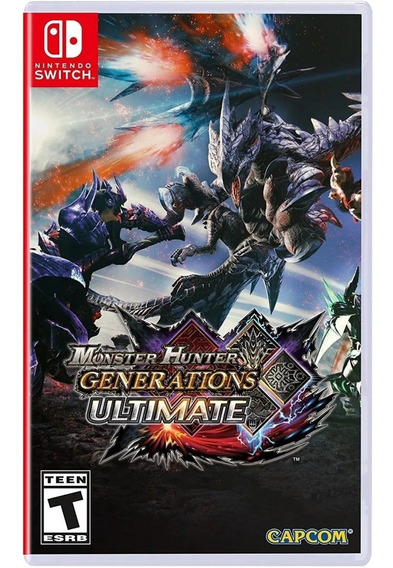Jogo Monster Hunter Generations Ultimate Nintendo Switch