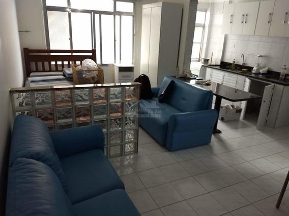 Kitão No Canto Do Forte, 1 Vaga Coberta, Só Na Imobiliária Em Praia Grande. - Mp12553