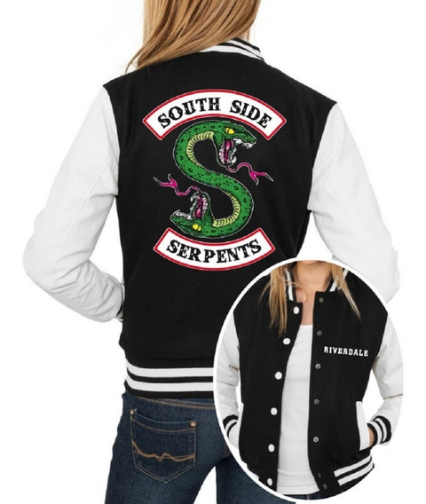 Jaqueta College Feminina Série Riverdale Southside Serpents