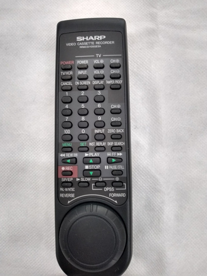 Controle Remoto Vídeo K7 Sharp Vc1699 Original