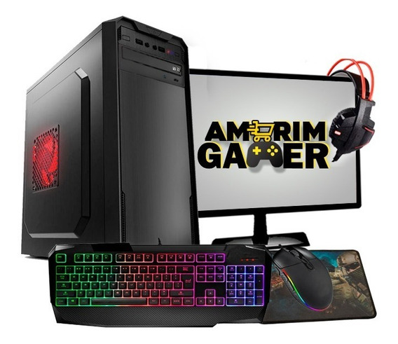 Pc Gamer Completo Barato Intel R7 240 8gb Hd 500gb