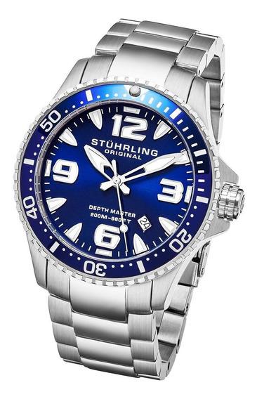 Relógio Masculino Stuhrling - Regatta 842 Quartz 43mm Diver