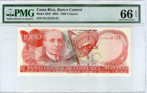 Imagen 1 de 2 de Billete 1000 (2005) Certificado