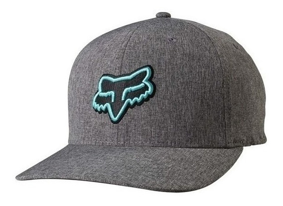 Gorra Fox Transfer Gris Moda Casual Motocross Mtb Lifestyle