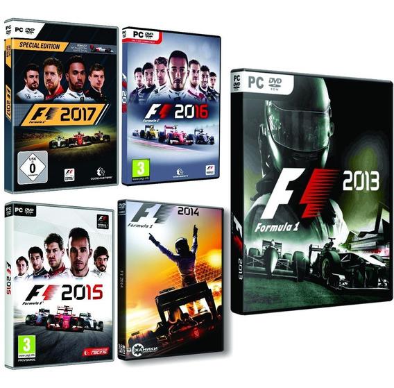 F1 2017 F1 2016 F1 2015 F1 2014 F1 2013 2012 2011 2010 Pc