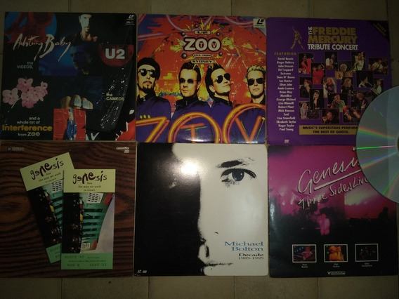 Laser Disc Lote (03 Ld Por 100,00) Rock Pop Latino Jazz