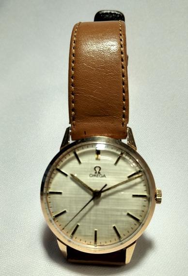 Relógio De Pulso Omega 1950 Ouro Maciço 18 Corda Original