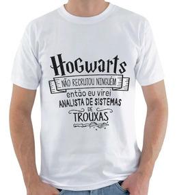 Camiseta Harry Potter - Analista De Sistema De Trouxas