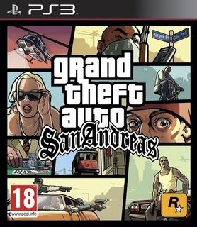 Gta Grand Theft Auto San Andreas Hd ~ Ps3 Digital Español