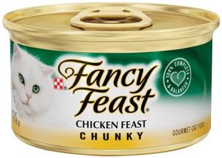 Purina Fantasía Fiesta Gourmet Chunky Wet Comida Para Gatos