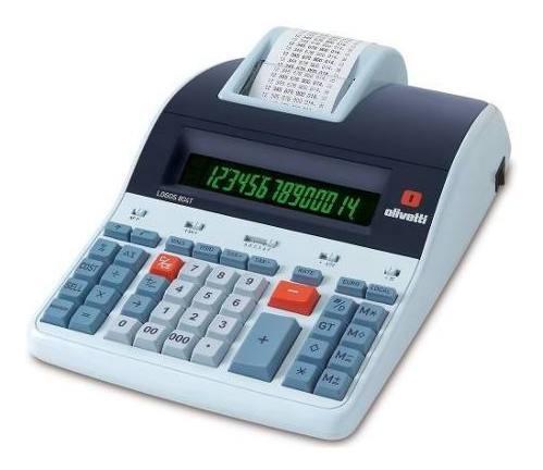 Calculadora Mesa Olivetti Logos 804t Térmica De Dígitos 14