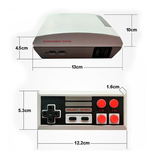 Mini Consola 620 Juegos Retro Clasicos Mario Bros Sonic
