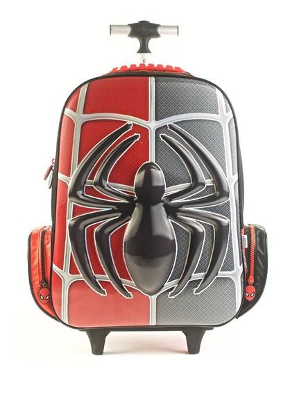Mochila Spiderman Con Carro 17