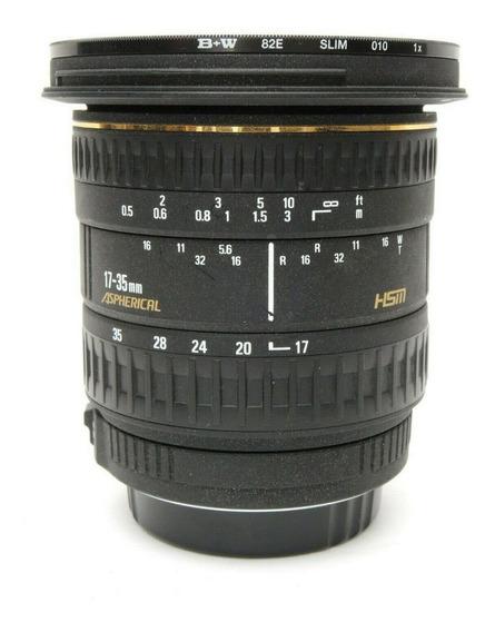 Lente Sigma 17-35mm F/2.8 - F/4.0 Canon Eos Full Frame Autof