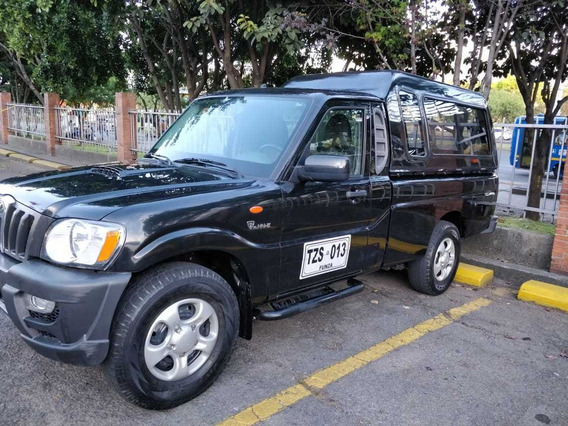 Mahindra Pickup Con Capacete Sencilla Mt 2000cc 4x2 Diesel